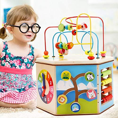 PhantomSky 8 と 1 プレイセンターシリーズ 知育ボックス キッズおもちゃ 赤ちゃんの木の玩具 非常に素晴...