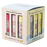 Charming Charlie Animal-Themed Flavored Lip Gloss w/Beeswax Set - Princess Gift Collection, Beauty Essentials - Pack of 9