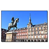 XCPINGYIDU Leinwanddruck Spanien Architektonische