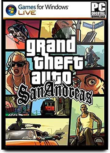 G-T-A-San-Andrea – (Digital Download) Full PC Game – (NO DVD NO CD) – (NO ONLINE MULTIPLAYER MODE) – PC.