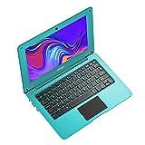 Toposh - Ordenador portátil mini de 10,1 pulgadas, 2 GB de RAM + 32 GB SSD Intel Atom X5-Z8350 Quad-Core gráfico de 1,92 GHz, portátil con teclado de Estados Unidos, color verde