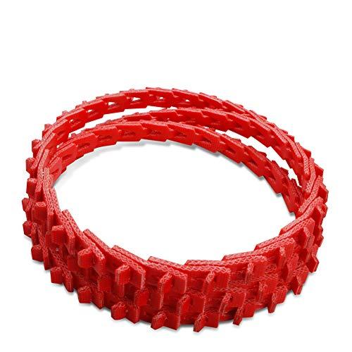 """25ft Length A//4L Profile 1//2/""""/"""" Width R Accu-Twist Adjustable Link V-Belt"""