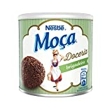 Nestlé Moça Brigadeiro Desert - 13.6oz   Nestlé Moça Docinho Brigadeiro Lata - 385g - (PACK OF 01)