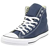 Converse Chuck Taylor All Star Core Hi, Zapatillas de tela para Unisex adulto, Azul (Navy Blue), 37.5 EU