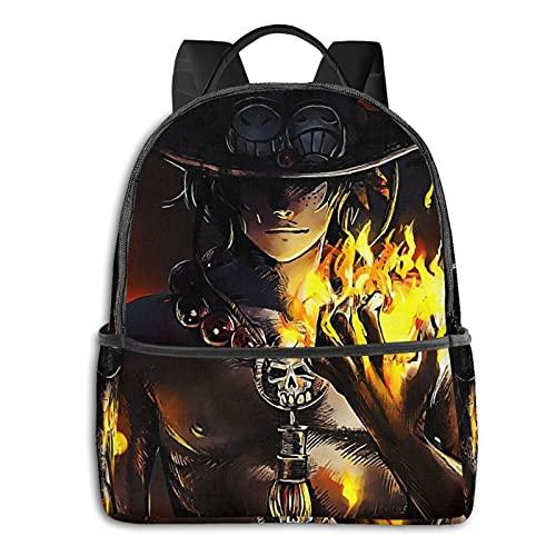 Una pieza negro lado bolso de hombro impermeable y antirrobo llevar universidad mochila hombre y mujer estudiante escolar
