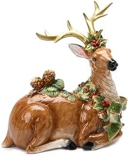 Best ceramic reindeer figurines Reviews