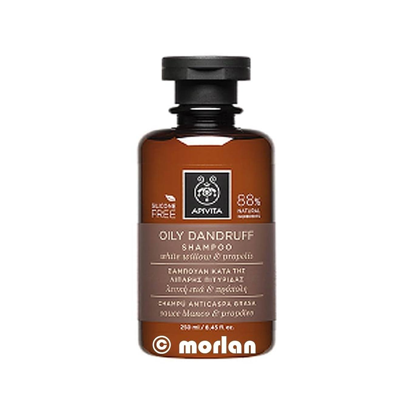 サーバカウントアップ高尚なアピヴィータ Oily Dandruff Shampoo with White Willow & Propolis (For Oily Scalp) 250ml [並行輸入品]