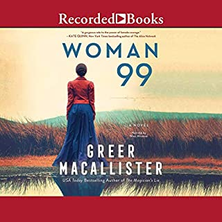 Woman 99                   By:                                                                                                                                 Greer Macallister                               Narrated by:                                                                                                                                 Nina Alvamar                      Length: 13 hrs and 26 mins     7 ratings     Overall 4.4