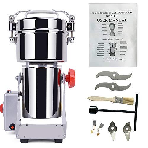 DAMAI Swing Type 800g Stainless Steel Grain Mill Coffee Bean Grinder Dry Spice Pulverizer HC-800Y