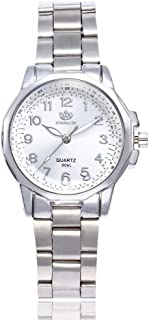 Luxury Watches for Women DYTA Ladies Wrist Watches with Stainless Steel Band Stainless Steel Cases Under