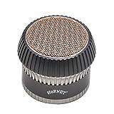 Molinillo de tabaco de aluminio de 4 capas de 45mm, accesorios para fumar, molinillo de metal, cigarrillo, vainilla, tipo seta