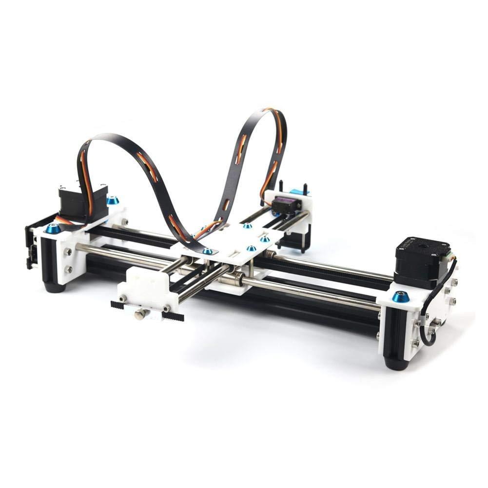 DONOTTAG. Mini Kit de Bricolaje de Escritorio Multifuncional USB Pen Plotter de Dibujo Dibujo del Robot Máquina 100-240V Enchufe de Reino Unido: Amazon.es: Hogar