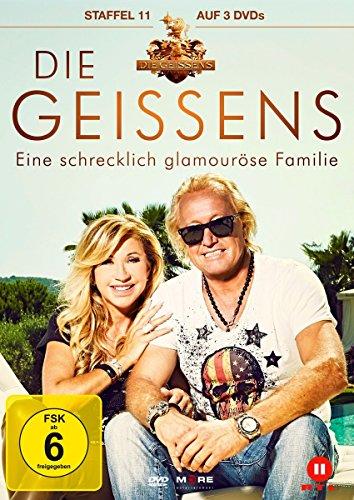 Die Geissens - Eine schrecklich glamouröse Familie: Staffel 11 (3 DVDs)