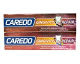 CAREDO Healing Gingivitis Toothpaste Non Recurrence, Gum Bleeding Treatment, Treating Repairing Curing Early Stage Periodontitis by Regenerating Restoring Healthy Gums (100g, 2 counts)