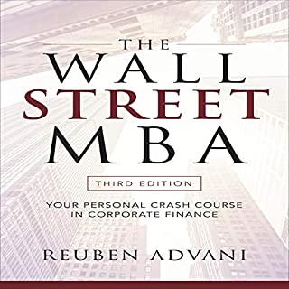 The Wall Street MBA, Third Edition audiobook cover art