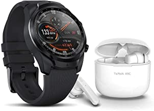 TicWatch Pro 4G Plus TicPods ANC Bundle-Wear OS by Google Mens Android GPS Cellular smartwatch+TicPods ANC Active nosie Ca...