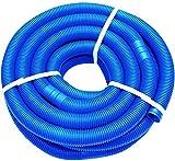 well2wellness® Poolschlauch 32mm - Blauer Schwimmbadschlauch - 3 Meter