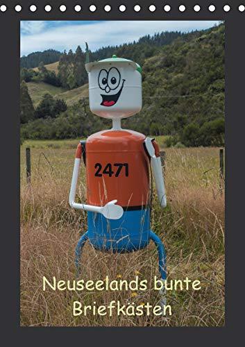 Neuseelands bunte Briefkästen (Tischkalender 2021 DIN A5 hoch)