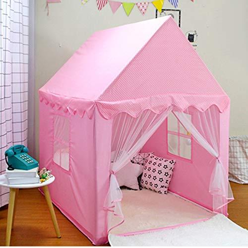 Kinderen Spelen Tent Girls Asweets Teepee Tent voor Kinderen Baby Kids Toys Binnen Buiten (whithout Balls),Pink