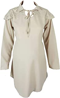M4M Fashion Maternity Blouse For Women - Beige - Medium