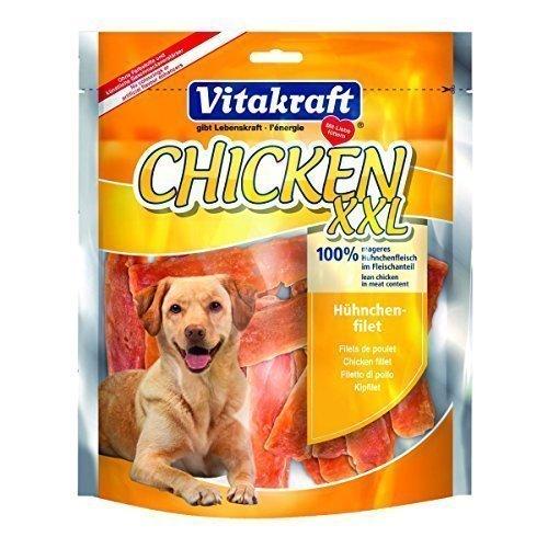 Vitakraft, Snack per cani, al pollo, XXL, 6 x 250 g
