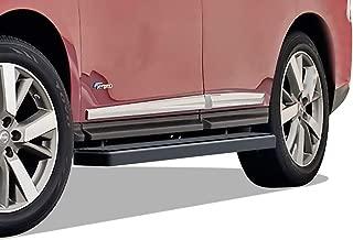 APS iBoard Running Boards 5 inches Matte Black Custom Fit 2013-2020 Nissan Pathfinder (Exclude 15 Platinum) & 2013-2017 Infiniti QX60 (Nerf Bars Side Steps Side Bars)