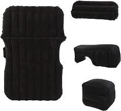 Guoziya Air Mattress Car Inflatable Bed Split Mattress Flocking Free Folding Inflatable Mattress Camping Travel Outdoor Air Bed,140X90X45cm