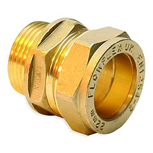 Flowflex 5090.10/EF Coude Egal Cuivre//laiton 10/mm lot de 10/pi/èces