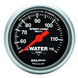 Auto Meter Automotive Replacement Water & Oil Temperature Gauges