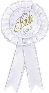 2 unidades de adornos de novia para bodas o corpiños, Blanco