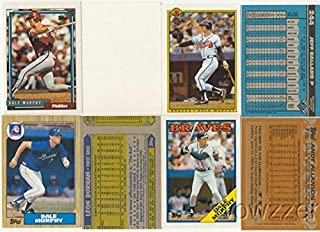 Rare Lot of Eight (8) Different Vintage Topps Dale Murphy Error CardS from 1987-1992
