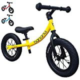 Banana GT Balance Bike - 12' Alloy Wheels Air Tires for Girls and...