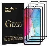ivoler 3 Stücke Panzerglas Schutzfolie für Oppo Find X2 Lite 5G / Vivo Y70, [Volle Bedeckung] Panzerglasfolie Folie Hartglas Gehärtetem Glas BildschirmPanzerglas
