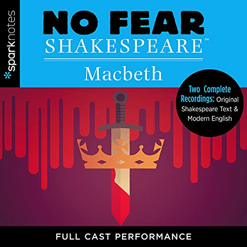 Macbeth (No Fear Shakespeare) Audiobook By SparkNotes cover art