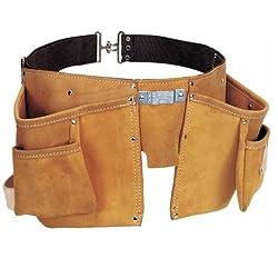 Stanley Porte-outils en cuir double ceinture Cordura