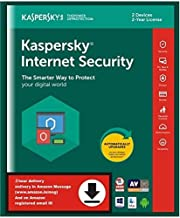 Kaspersky Internet Security 2 Users, 2 Years (Single Key) (Email Delivery in 2 Hours - No CD)