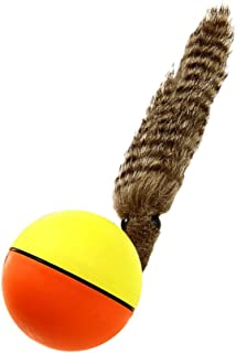 F Fityle Funny Game/Play Electronic Pets - Weazel Ball Toy for Kids Child Cats Dogs Pet Moving Catching