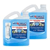 Wet & Forget Outdoor Ready to Use Moss, Mold, Mildew & Algae Stain Remover, 64 oz, 2-Pack