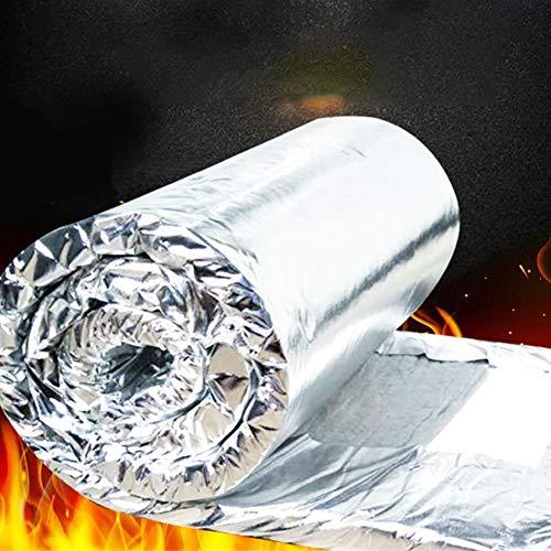 raspbery Isolierung Baumwolle Wärmedämmung Matte Hochtemperaturbeständige Kesselisolierung und Feuerfeste Baumwolldecke für Heatbed Aluminium Pad PCB