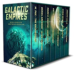 Galactic Empires: Seven Novels of Deep Space Adventure by [Patty Jansen, M. Pax, Mark E. Cooper, Daniel Arenson, Chris Reher, David VanDyke, Joseph Lallo]