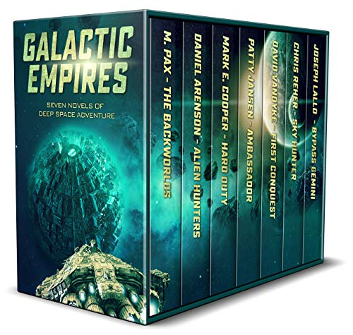 Featured Science Fiction: Galactic Empires by Multiple Authors and Patty Jansen