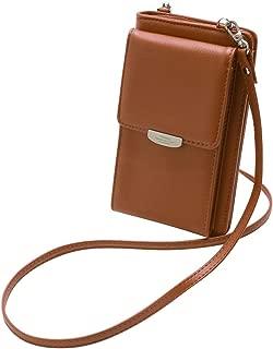 Arateck All in One Design Crossbody Phone Wallet Case Multi Function Shoulder Bag