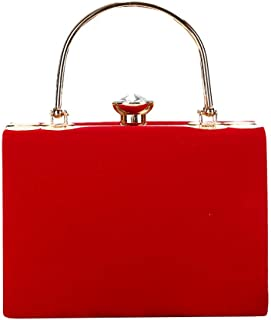 OYSOHE Damen Samt Clutch Bag Evening Bag Bridal Bag Wedding Clutch Tasche Handtasche