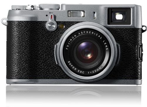 FUJIFILM FinePix X100 APS-C CMOS EXR Digital Camera with 23mm Fujinon Lens and 2.8-Inch LCD - International Version (No Warranty)