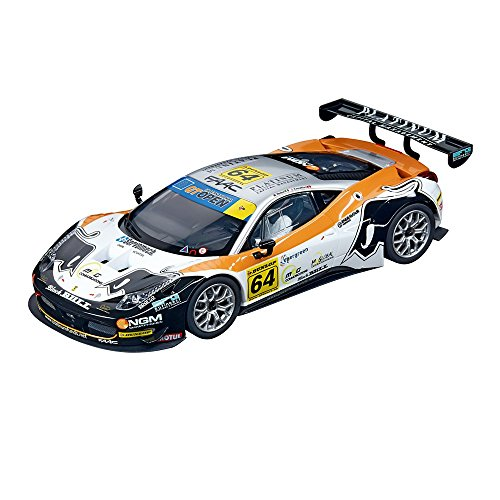 Carrera 20023811 - Digital 124 Ferrari 458 Italia GT3 Black Bull, No 64