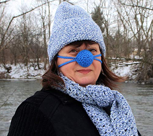Buy 1 Get 1 Free Sale - Crochet Cozy Nose Warmer - Custom Colors and Sizes Available …