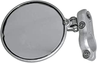 CRG Hindsight LS (Lane Split) Left Bar End Mirror - Silver HSLS-201-L