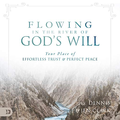 Flowing in the River of God's Will: Your Place of Effortless Trust and Perfect Peace audiobook cover art