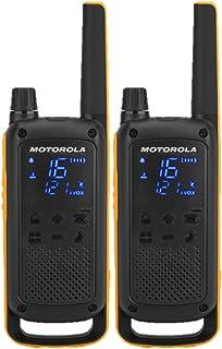 comprar comparacion Motorola Talkabout T82 Extrem - Walki-Talkis, Alcance hasta 10 Km, Pantalla Oculta, Linterna LED, color Negro y Amarillo