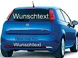 Sticker Design Shop 50 cm 1 bis 5 zeilig Wunschtext Domain Namen Wunsch Aufkleber Autobeschriftung Auto Heckscheibe Domainaufkleber (50 cm 1 zeilig)